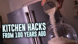 100-Year-Old Kitchen Hacks You Can Use Today