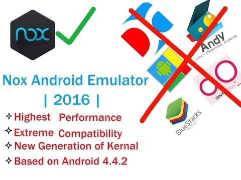 Android Emulator Nox | 2016