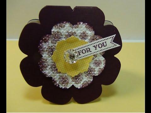 Floral Framelit Note Card