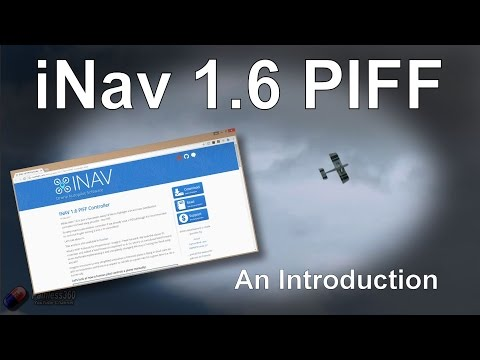 iNav 1 6 - Understanding the new PIFF controller for fixed
