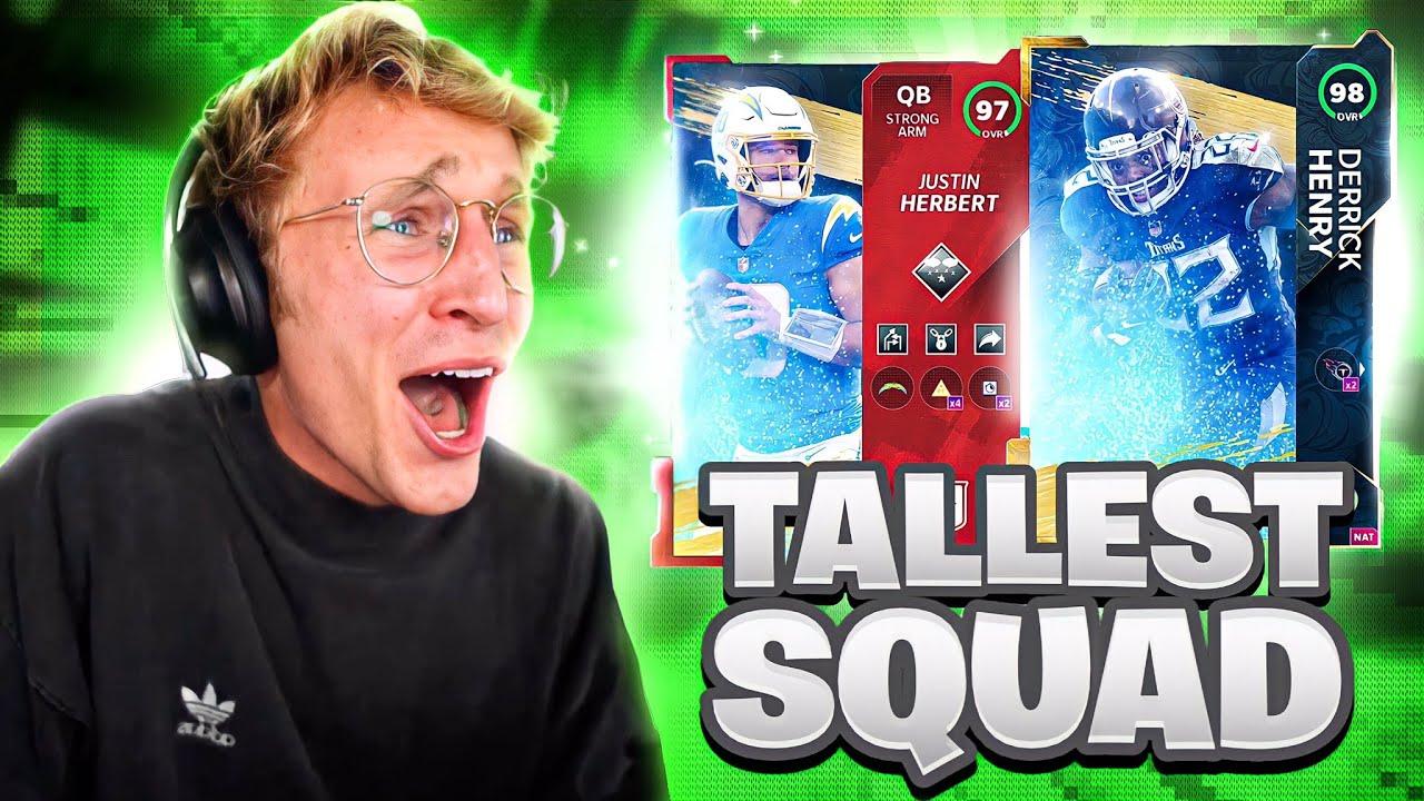 The NFL's Tallest Team!
