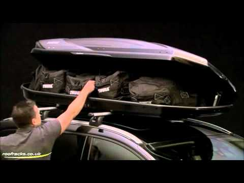 Thule Excellence Roof Box Roof Racks, Roof Boxes, Cycle Carriers for Cars, Vans, SUV, 4x4