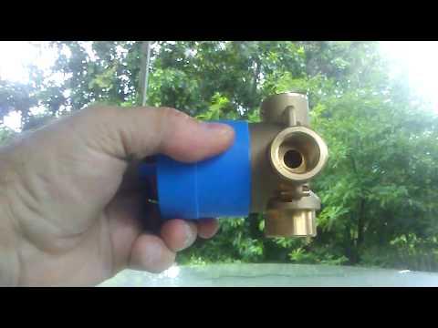 grohe diverter valve