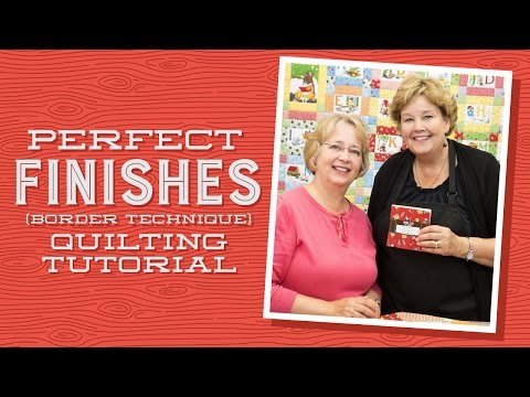 Quilt Border Techniques: Perfect Finishes with Jenny Doan and Darlene Zimmerman