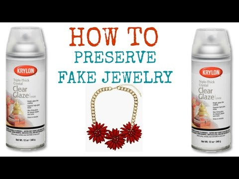 HOW TO: Preserve Fake Jewelry