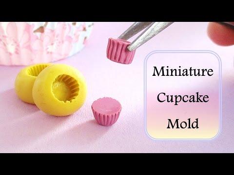 DIY Miniature Cupcake Mould/Mold Tutorial // Maive Ferrando