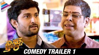 Ninnu Kori Latest Comedy Trailer | Nani Fun with Murali Sharma | Nivetha Thomas | Aadhi Pinisetty