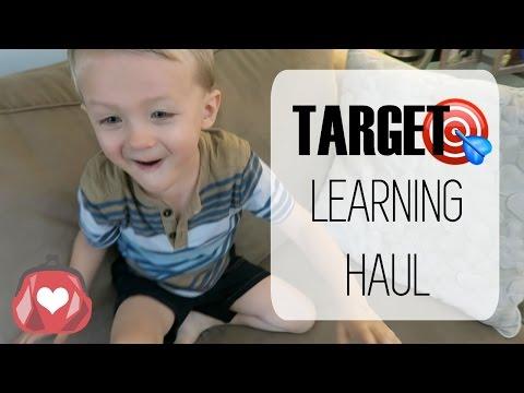 🎯 TARGET | Toddler Learning Haul