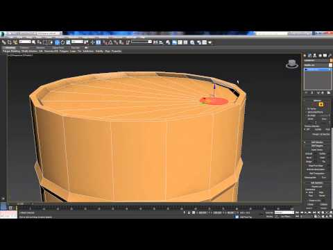 Making An Untextured Oil Drum - 3DS MAX