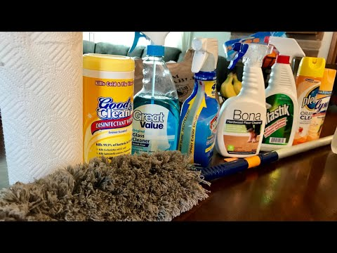 #GoodMorning 73 Vlog - Let The Spring Cleaning Begin... Inside The House
