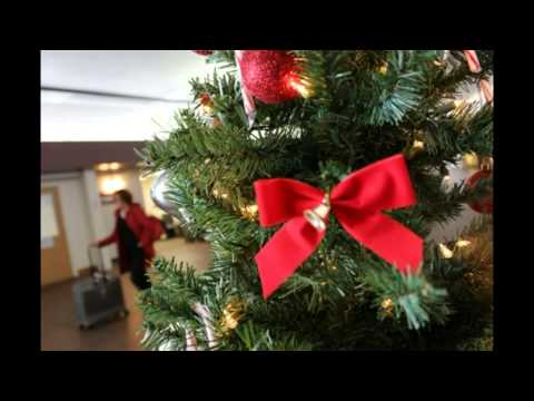 Christmas at Charleston International Airport