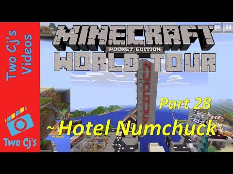 Awesome Minecraft PE World Tour - Hotel Numchuck [28]
