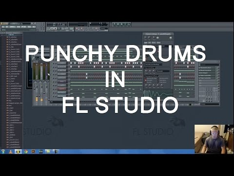 How To Make Punchier Kick Drums And Snappier Snare Drums In FL Studio With Transient Shaper