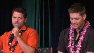 HonCon Jensen Ackles and Misha Collins FULL Panel 2017