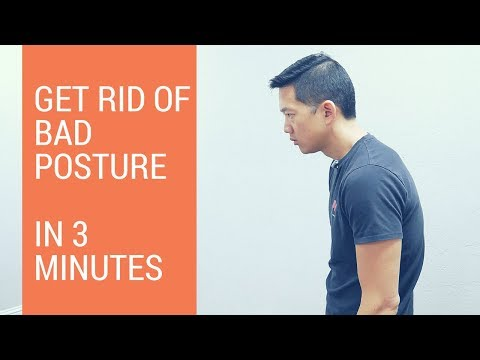 How to fix hunchback posture in 3 minutes