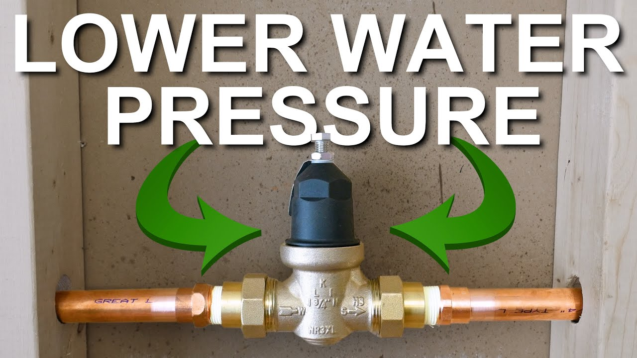 How To LOWER Your Water Pressure (COMPLETE GUIDE) | GOT2LEARN
