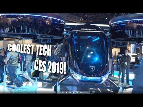 Coolest Tech at CES 2019 + FULL Google Amusement Ride experience!
