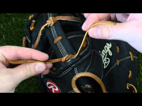 How to tie a Baseball Glove Knot - Also known as a square knot
