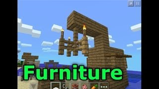 Minecraft Pe How To Make Epic Furniture