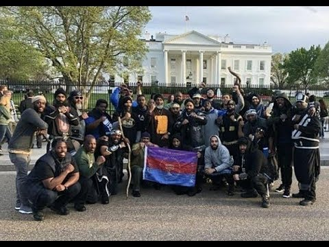 In Front Of The White House Israelite Unity Camp Washington D.C. PT.2