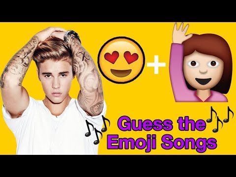 Justin Bieber Emoji Challenge- Guess the Justin Bieber Song | Can you guess them all?