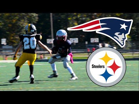 Steelers Vs Patriots   JV Football