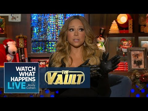 Mariah Carey On That 'Weird Tension' With Whitney Houston | #FBF | WWHL