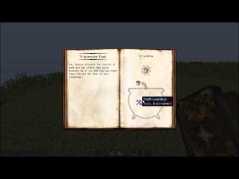 Minecraft Mod Review: Transmute Liquids (Thaumcraft addon)