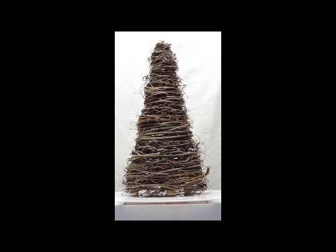 Handmade Wide Grapevine Tree