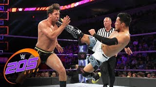 Akira Tozawa vs. Drew Gulak: WWE 205 Live, Sept. 5, 2017