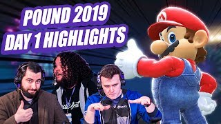 Pound 2019 Smash Bros Ultimate Day 1 Highlights | ft. ANTi, MVD, Plup, and More!!