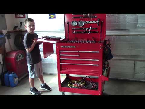 Harbor Freight Rolling Tool Cart Mods.
