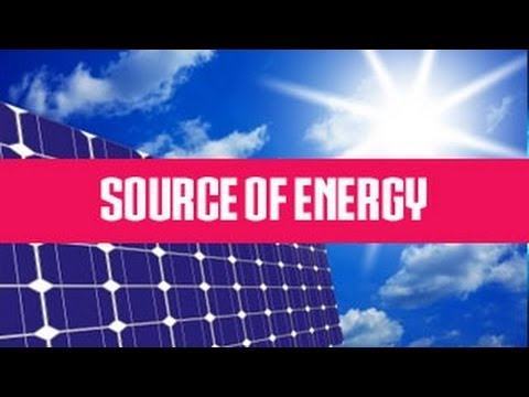 Know The Source of Energy | Class 5 Environmental Studies