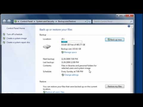 Restoring your PC after a hard drive failure