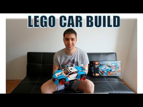 Huge Lego Car Build! [My Birthday presents]