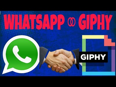 WHATS-APP with GIPHY!!!