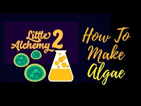 Little Alchemy 2-How To Make Algae Cheats & Hints