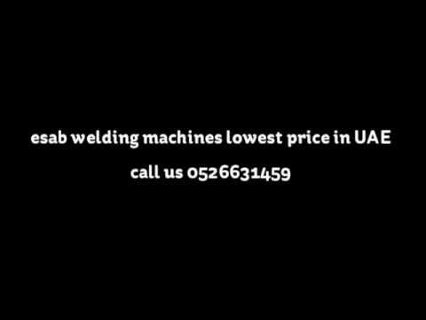 Esab welding machine lowest price in uae call us at 0526631459