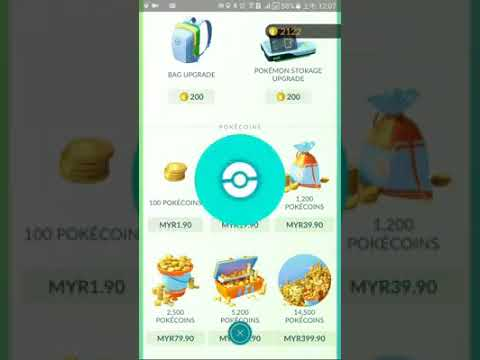 How to purchase Pokemon Go coin with Prepaid Card U mobile, Digi , Hotlink and Others