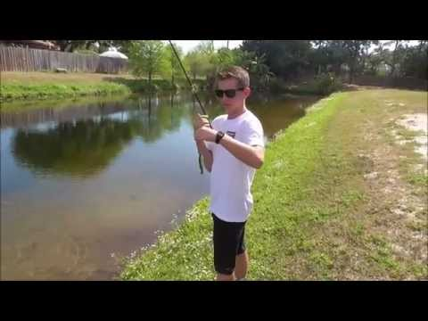 Fly Fishing for Bass and Bluegill in Florida - Catching a Fish Every Cast