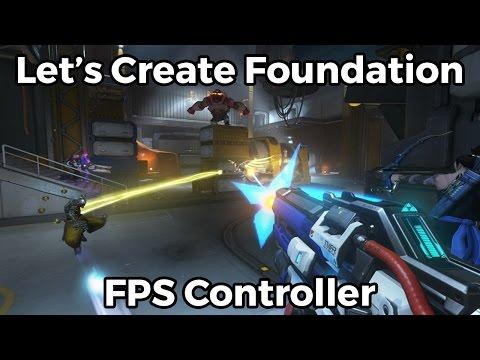 Let's Create FPS Controller Foundation - Blueprints #2 [Unreal Engine 4]
