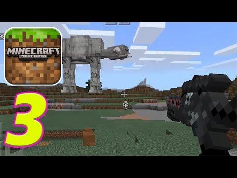 Minecraft PE # 3 Star Wars Addon Showcase | Gameplay Walkthrough
