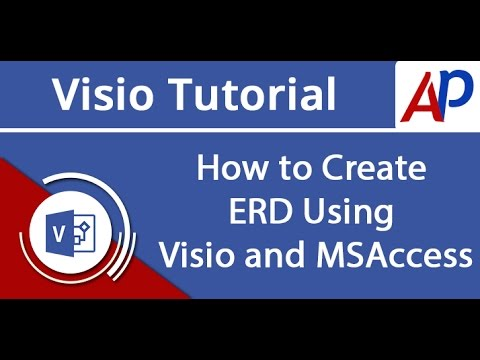 How to Create ERD Using Visio and MSAccess