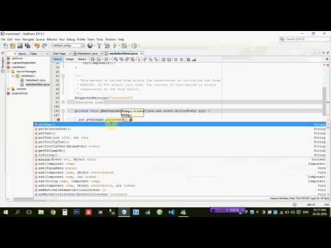 Java Gui Beginners program Generate simple  marksheet