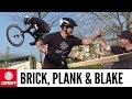 Jump Anywhere With A Plank And Bricks   GMBN Street Mountain Biking
