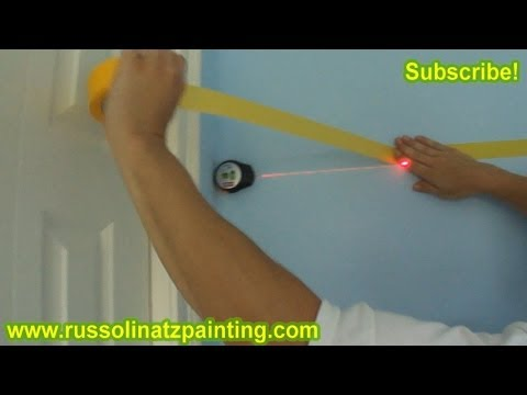 DIY Nursery Painting - Accent Wall & Horizontal Stripes (Part 4)