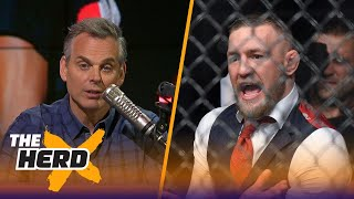 Colin Cowherd now thinks Conor vs Floyd in the Octagon is going to happen | THE HERD