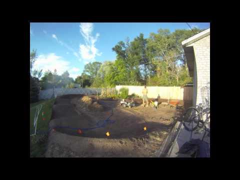 Backyard Pump Track