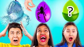 Incredible Balloon Tricks! Balloon Challenge!
