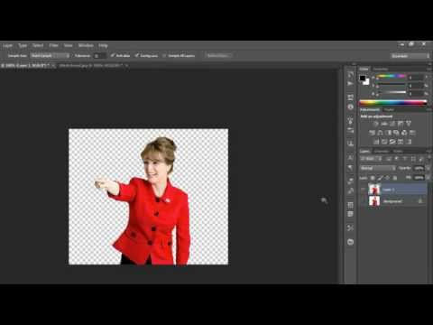 How  to convert a JPG image into PNG format in Photoshop ( in Tamil)